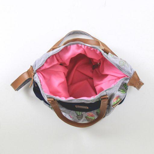 Bolsa de Cacto Bordada