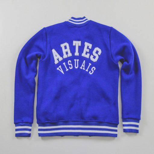 Blusa de Frio de Artes Visuais Azul Royal