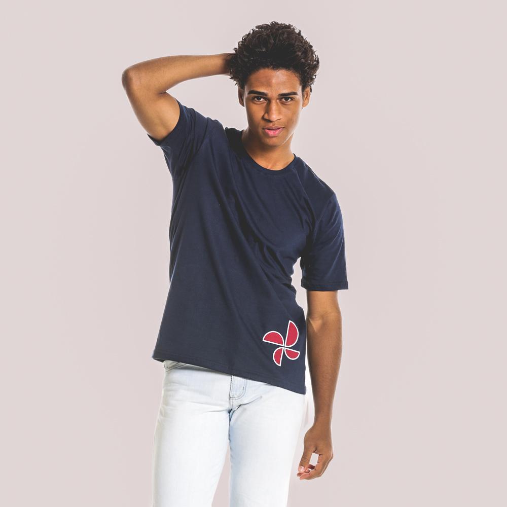 Camiseta algodão customizada