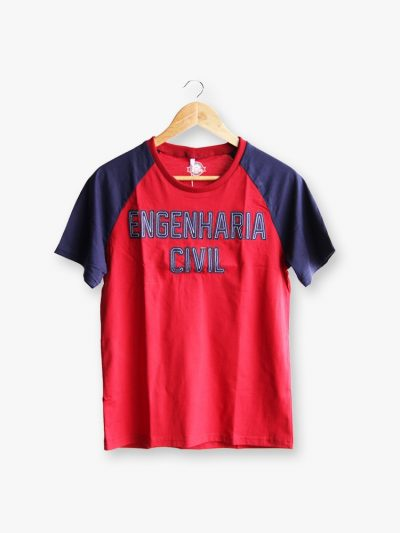 camiseta do curso de engenharia civil