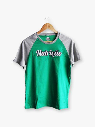 camiseta de curso de nutrição