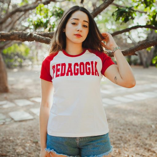 camiseta de curso de pedagogia