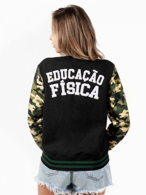 jaqueta americana de educação física