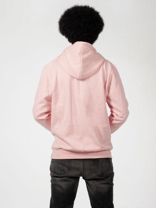 blusa de frio rosa claro de pedagogia