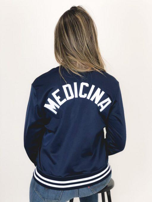 Jaqueta de Medicina azul marinho