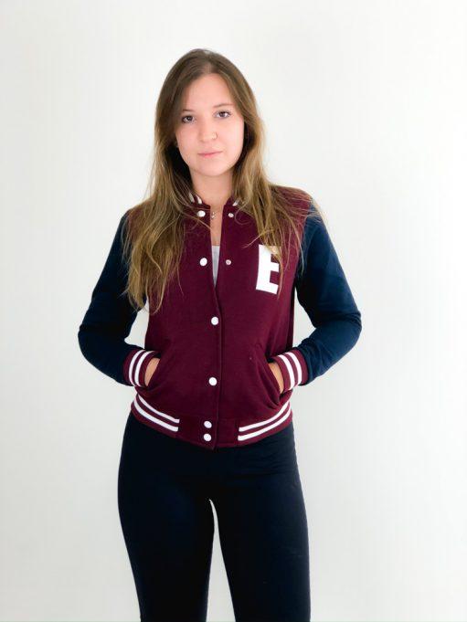 jaqueta college personalizada de enfermagem