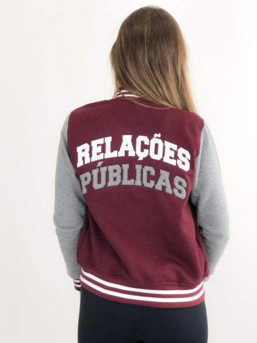 Jaqueta College de Relações Públicas Vinho (10)