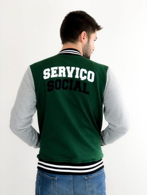 Jaqueta College de Serviço Social Verde Musgo (6)