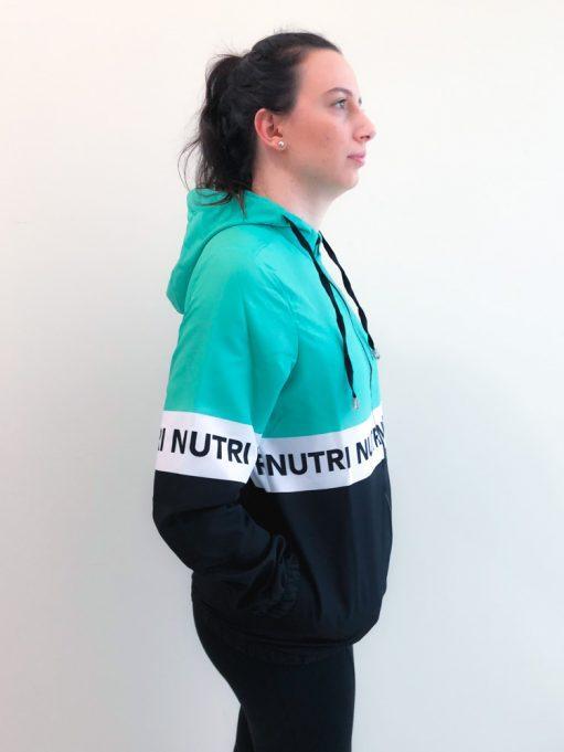 corta vento personalizada de nutrição
