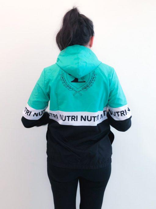 jaqueta corta vento da faculdade de nutrição