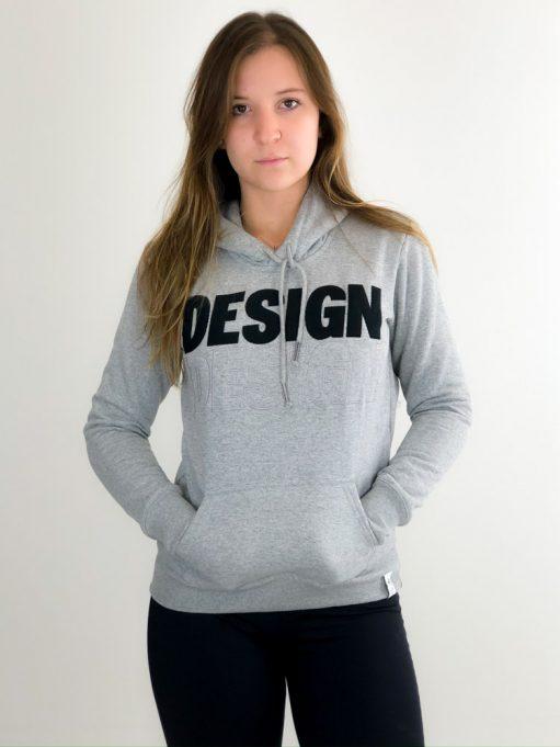 Moletom de Design Cinza Mescla (4)