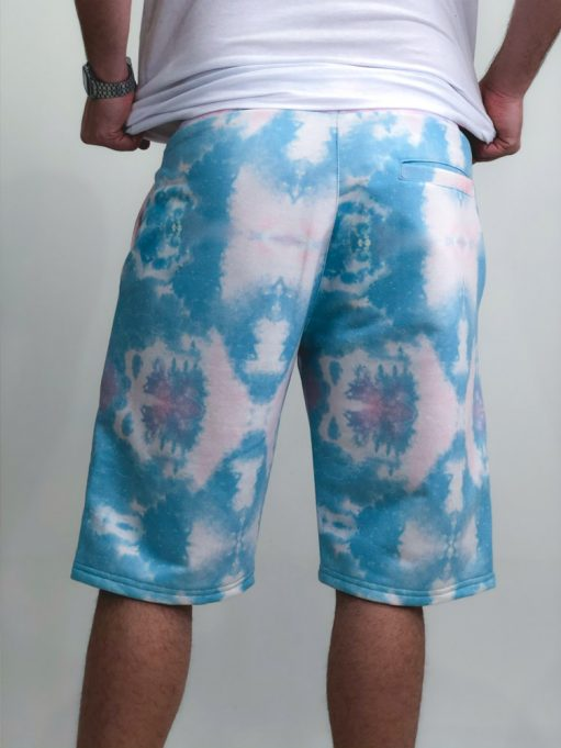Bermuda Tie Dye de Moletinho (2)