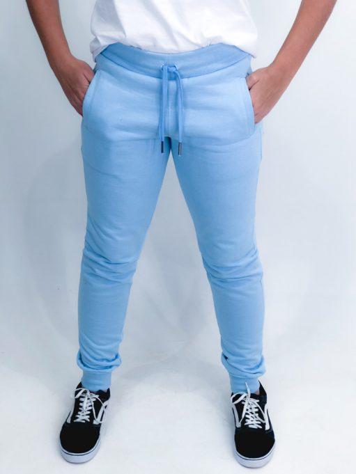 calça básica azul claro