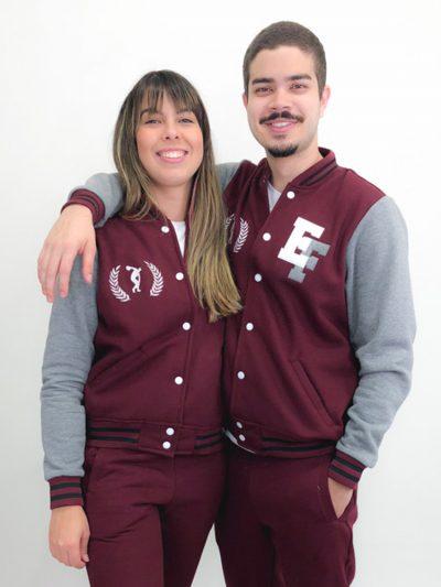 jaqueta de educação física