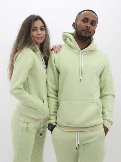 Blusa de Moletom Básica Verde Menta (3)