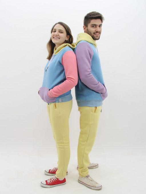 Blusa de Moletom Color Block Candy (1)