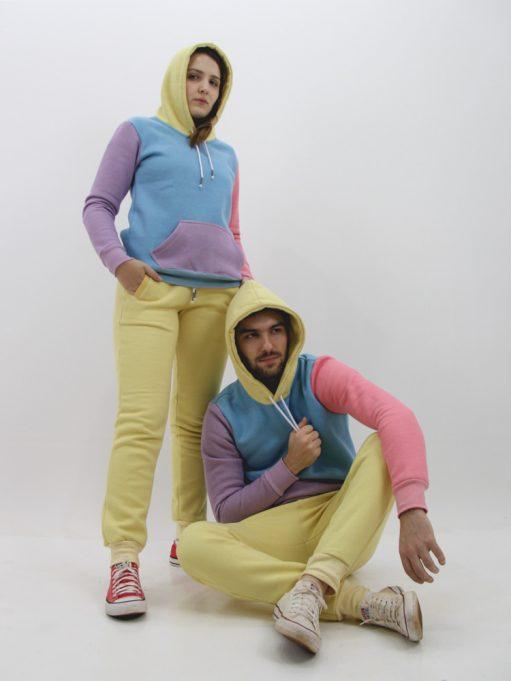 Blusa de Moletom Color Block Candy (3)