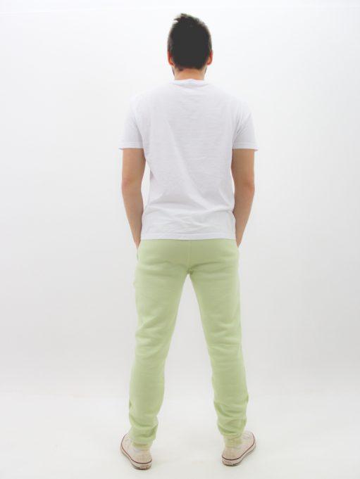 Calça de Moletom Básico Verde Menta (4)