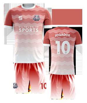 uniforme de time de futebol customizado