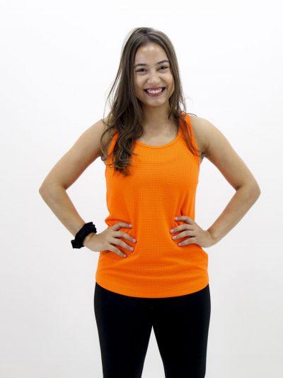 Regata Fitness Laranja Neon