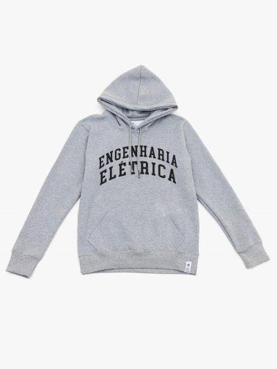 Blusão de frio cinza mescla de Engenharia Elétrica