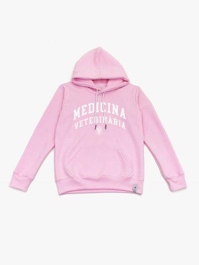 Blusão de frio rosa de Medicina Veterinária