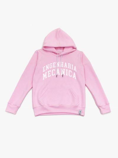 Blusão de frio rosa claro de Engenharia Mecânica de